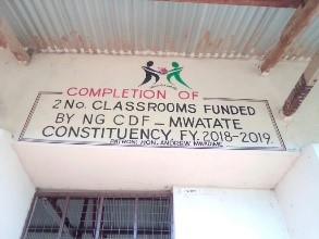 Kombolio secondary school Completion of 2no classrooms.